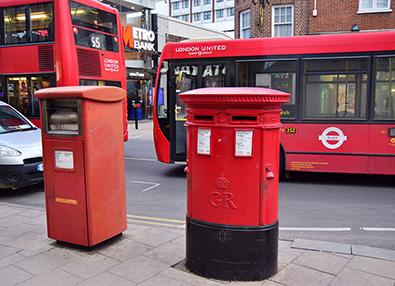 POST BOX TIMES KINGSTON CASTLE STREET